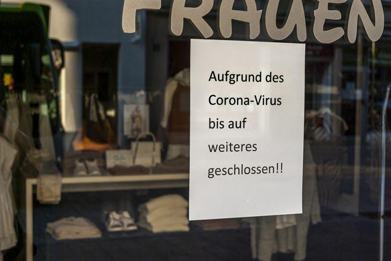 Laden geschlossen wegen COVID-19